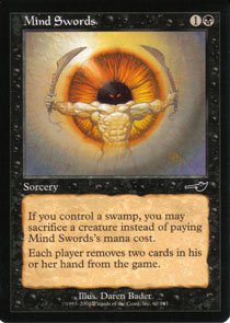 Magic the Gathering Nemesis Mind Swords NM/Mint