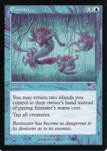 Magic the Gathering Nemesis Ensnare NM/Mint