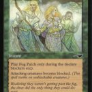 Magic the Gathering Nemesis Fog Patch NM/Mint