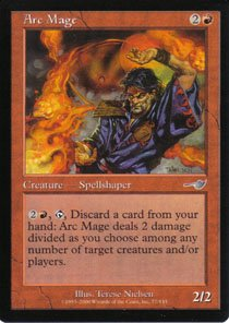 Magic the Gathering Nemesis Arc Mage NM/Mint