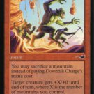 Magic the Gathering Nemesis Downhill Charge NM/Mint