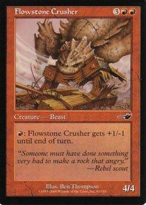 Magic the Gathering Nemesis Flowstone Crusher NM/Mint