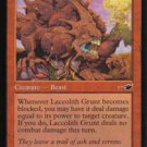 Magic the Gathering Nemesis Laccolith Grunt NM/Mint
