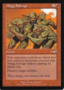 Magic the Gathering Nemesis Mogg Salvage NM/Mint