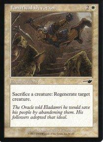 Magic the Gathering Nemesis Fanatical Devotion NM/Mint