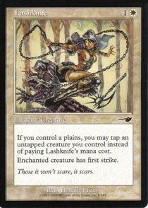 Magic the Gathering Nemesis Lashknife NM/Mint