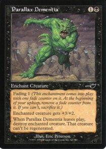 Magic the Gathering Nemesis Parallax Dementia NM/Mint