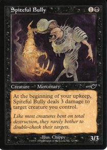 Magic the Gathering Nemesis Spiteful Bully NM/Mint
