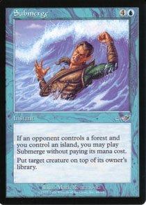 Magic the Gathering Nemesis Submerge NM/Mint