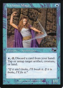 Magic the Gathering Nemesis Trickster Mage NM/Mint