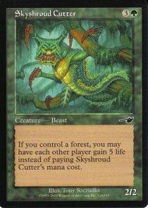 Magic the Gathering Nemesis Skyshroud Cutter NM/Mint