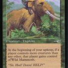 Magic the Gathering Nemesis Wild Mammoth NM/Mint