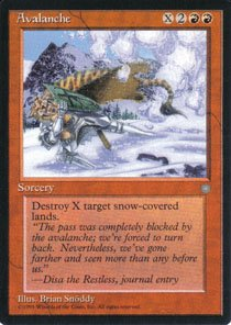 Magic the Gathering Ice Age Avalanche NM/Mint