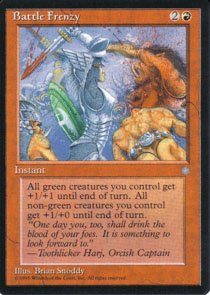 Magic the Gathering Ice Age Battle Frenzy NM/Mint