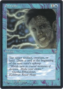 Magic the Gathering Ice Age Enervate NM/Mint