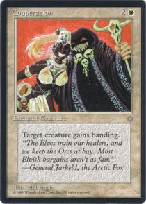 Magic the Gathering Ice Age Cooperation NM/Mint