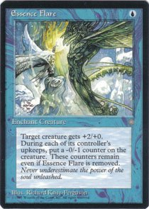 Magic the Gathering Ice Age Essence Flare NM/Mint