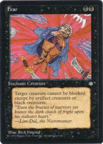 Magic the Gathering Ice Age Fear NM/Mint