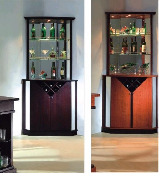 Esf Jb711 Modern European Style Corner Bar With Interior