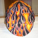 HAT- Flames-SIZES 7 5/8