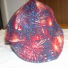 HAT- Fireworks - 2-SIZES 7 or 7 3/4