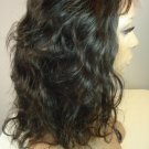 "14"" Asian Virgin Full French Lace Wig ~  Medium Size"