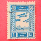 Turkish Aeronautical Association Donation Stamps vintage collectible Plane Stamp
