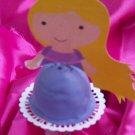 Princess Brownie Bite Printable Toppers