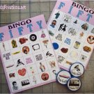 Fifties Sock Hop Bingo Printable
