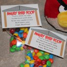 Mad Bird Poop Candy Topper Printable