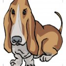 Dogs Coaster 004-Digital Download-ClipArt-Art Clip
