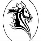 Black Circle horse184-Digital Download-ClipArt-ArtClip-Digital Art