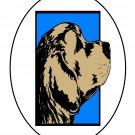 Black Circle Dog2-Digital Download-ClipArt-ArtClip-Digital Art