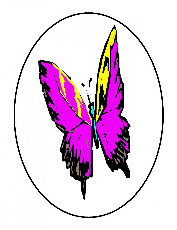 Black Circle butterflynasi044d-Digital Download-ClipArt-ArtClip-Digital Art