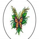 Black Circle butterflyLGA01ex04-Digital Download-ClipArt-ArtClip-Digital Art