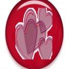 Hearts Hearts Brad Red Glass-Digital Download-ClipArt-ArtClip