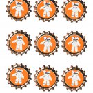 Mummy Bear Bottlecap -Download-ClipArt-ArtClip-Bottle Cap-Digital