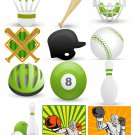 Sports Set2-T-Shirt-Digital Clipart-Website-Gift Tag-Gift Cards-Clipart-Background