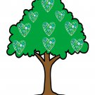 Mix Trees T6-Digital Download-ClipArt-Art Clip-Background-Gift Card-Banner-Gift Tag-Animals.