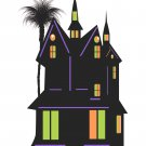 Halloween House H2-T-Shirt-Digital Clipart-SVG-Website-Gift Tag-Gift Cards