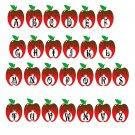 ABC Shape Monogram A1-Digital ClipArt-SVG-Art Clip-Apple-Gift Tag-Notebook-Scrapbook