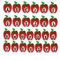 ABC Shape Monogram A2-Digital ClipArt-SVG-Art Clip-Apple-Gift Tag-Notebook-Scrapbook