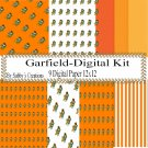 GarField Digital Kit-Digtial Paper-Art Clip-Gift Tag-Jewelry-T shirt