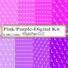 Pink and Purple-Digital Kit-Digtial Paper-Art Clip-Gift Tag-Jewelry-T shirt-Caketopper