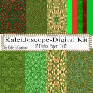 Kaleidoscope Digital Kit 1-Digtial Paper-Art Clip-Gift Tag-Jewelry-T shirt
