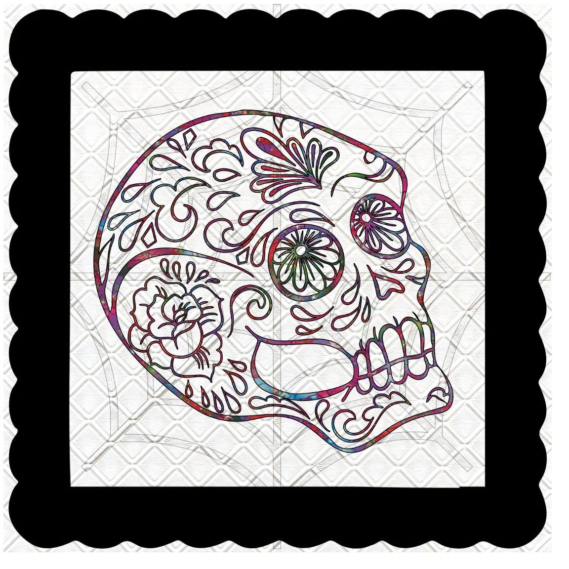 Skull 5b-Digital Kit-Jewelry Tag-Clipart-Gift Tag-Holiday-Digital Clipart-Halloween-Scrapbook.