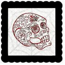 Skull 6b-Digital Kit-Jewelry Tag-Clipart-Gift Tag-Holiday-Digital Clipart-Halloween-Scrapbook.