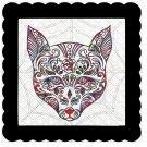 Skull 8b-Digital Kit-Jewelry Tag-Clipart-Gift Tag-Holiday-Digital Clipart-Halloween-Scrapbook.