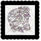 Skull 9b-Digital Kit-Jewelry Tag-Clipart-Gift Tag-Holiday-Digital Clipart-Halloween-Scrapbook.