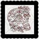 Skull 10b-Digital Kit-Jewelry Tag-Clipart-Gift Tag-Holiday-Digital Clipart-Halloween-Scrapbook.